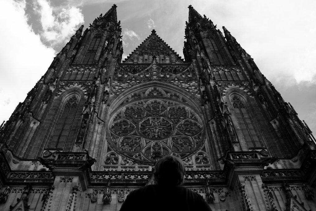 Prag: Veitsdom Portal