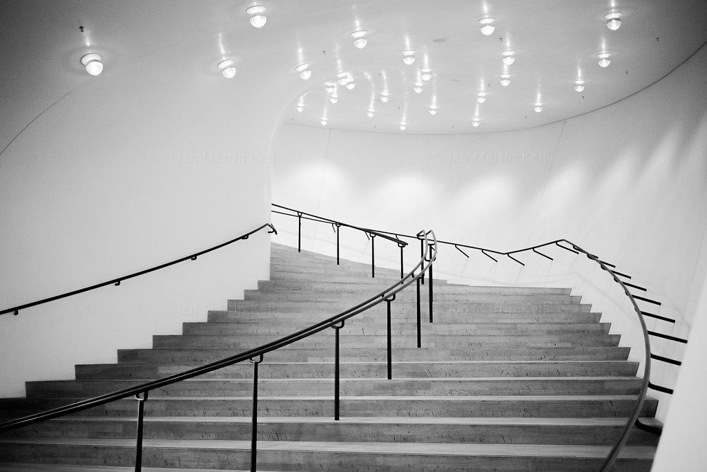 Elbphilharmonie, Treppe